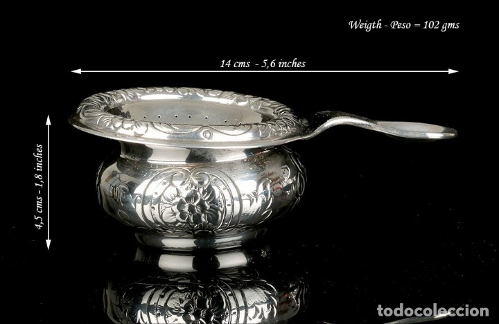 Antigüedades: Extraordinario Juego de Café Antiguo en Plata Maciza. 7,8 kilos. España, Principios Siglo XX - Foto 88 - 177785830