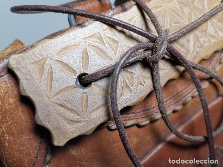 Antigüedades: zurrón o morral PASTOR. Arte pastoril.Etnografía.ORIGINAL AÑOS 50-60 PREPIRINEO LERIDANO-LERIDA - Foto 10 - 177785992