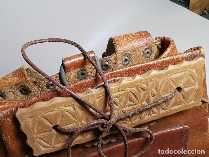 Antigüedades: zurrón o morral PASTOR. Arte pastoril.Etnografía.ORIGINAL AÑOS 50-60 PREPIRINEO LERIDANO-LERIDA - Foto 12 - 177785992