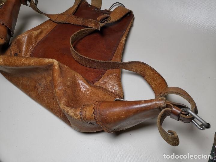 Antigüedades: zurrón o morral PASTOR. Arte pastoril.Etnografía.ORIGINAL AÑOS 50-60 PREPIRINEO LERIDANO-LERIDA - Foto 18 - 177785992