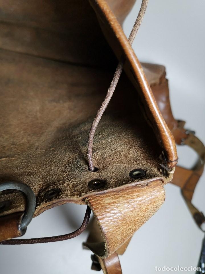 Antigüedades: zurrón o morral PASTOR. Arte pastoril.Etnografía.ORIGINAL AÑOS 50-60 PREPIRINEO LERIDANO-LERIDA - Foto 39 - 177785992