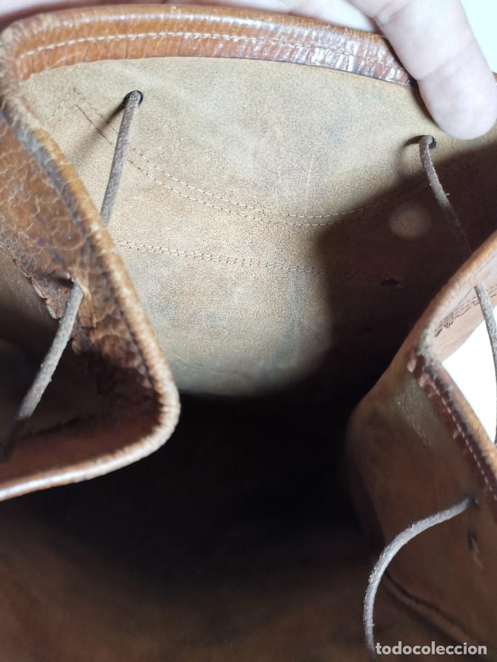 Antigüedades: zurrón o morral PASTOR. Arte pastoril.Etnografía.ORIGINAL AÑOS 50-60 PREPIRINEO LERIDANO-LERIDA - Foto 41 - 177785992