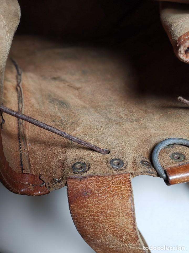 Antigüedades: zurrón o morral PASTOR. Arte pastoril.Etnografía.ORIGINAL AÑOS 50-60 PREPIRINEO LERIDANO-LERIDA - Foto 42 - 177785992