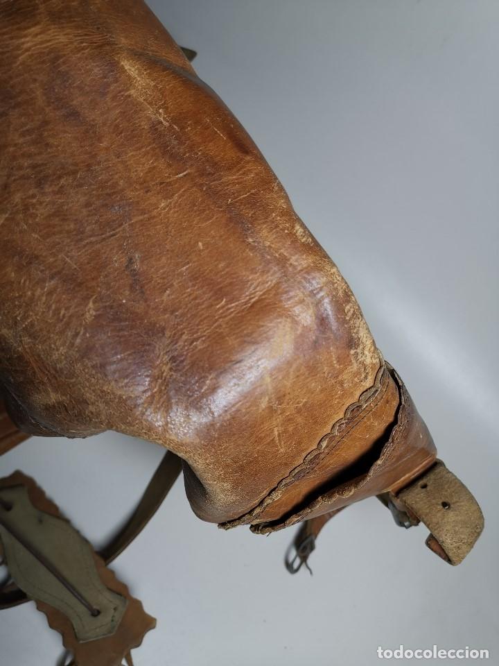 Antigüedades: zurrón o morral PASTOR. Arte pastoril.Etnografía.ORIGINAL AÑOS 50-60 PREPIRINEO LERIDANO-LERIDA - Foto 49 - 177785992