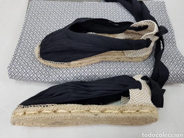 Antigüedades: ALPARGATAS TRADICIONALES DE HOMBRE. 14 VETAS - Foto 7 - 177794020