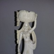 Antigüedades: MUJER MARFIL. Lote 177799298