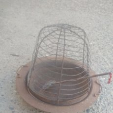 Antigüedades: BRASERO ANTIGUO COMPLETO.. Lote 177815550