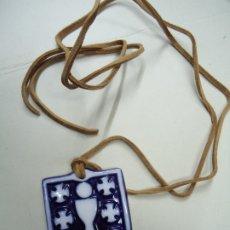 Antigüedades: MEDALLA ESCUDO DE GALICIA, SARGADELOS NACION TERRITORIO C.E.O.T.M.A.-M.O.P.U. 1981 MEDALLA ESCUDO DE. Lote 177834293
