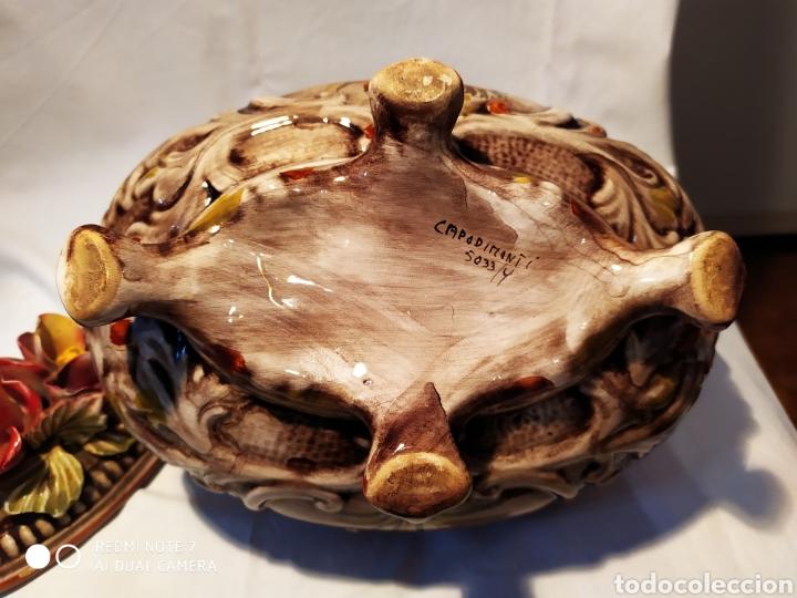Antigüedades: PRECIOSA SOPERA CAPODIMONTI, ÚNICA, VER - Foto 16 - 177845563