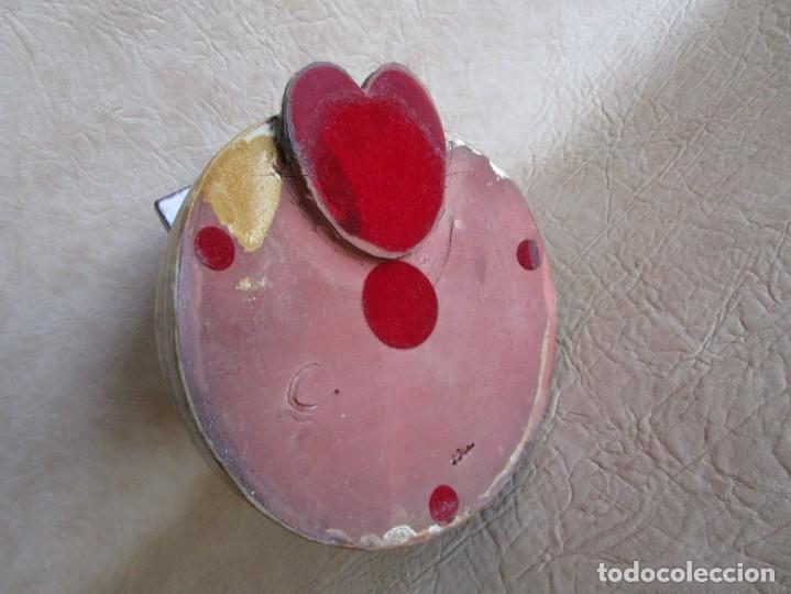 Antigüedades: figura ceramica mujer con libro firmado elisa - Foto 2 - 177862040