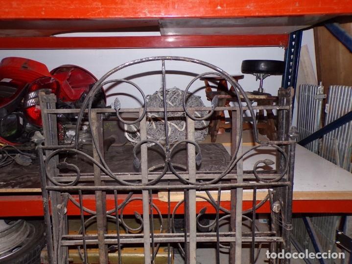 Antigüedades: cama hierro forjado individual - Foto 6 - 177872819