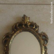 Antigüedades: ESPEJO CORNUCOPIA COLOR ORO. Lote 177873600