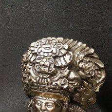 Antigüedades: DIOS INCA EN PLATA, S.XIX. Lote 177881543