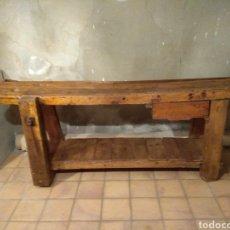Antigüedades: BANCO DE CARPINTERO. Lote 177886402