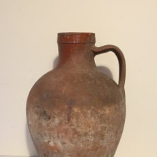 Antigüedades: ANTIGUO CÁNTARO DE BARRO - CERAMICA POPULAR. Lote 177946437