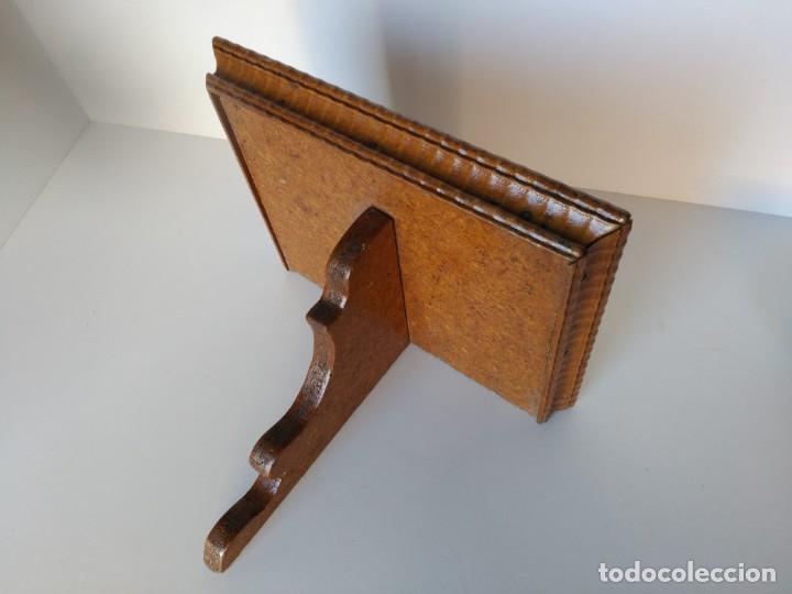 REPISA DE MADERA PARA SANTOS U OTROS (Antigüedades - Muebles Antiguos - Repisas Antiguas)