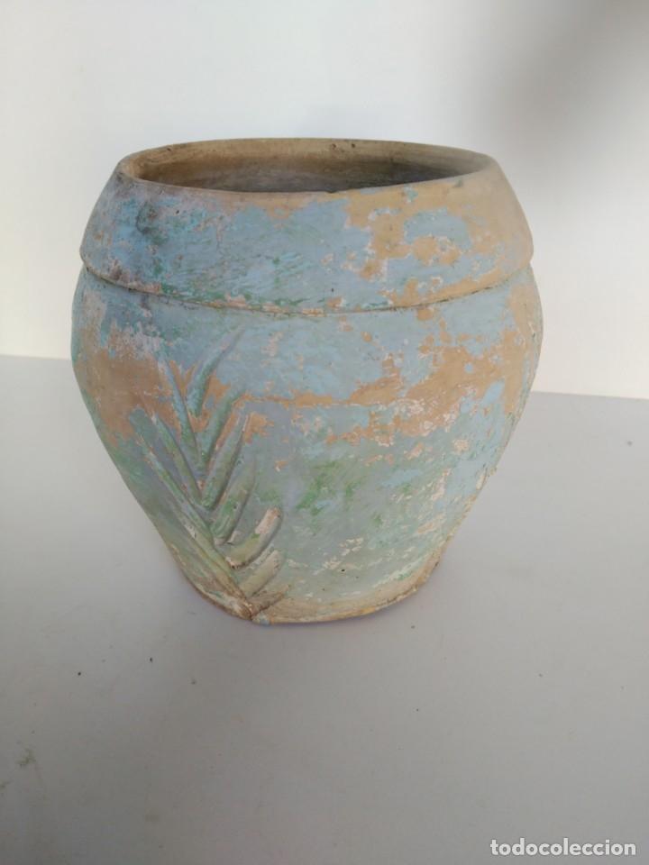 ANTIGUO TIESTO DE CERÁMICA DE ÚBEDA (Antigüedades - Porcelanas y Cerámicas - Úbeda)