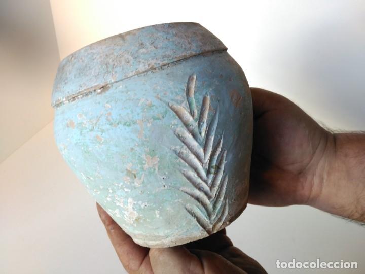 Antigüedades: Antiguo tiesto de cerámica de Úbeda - Foto 3 - 177954993