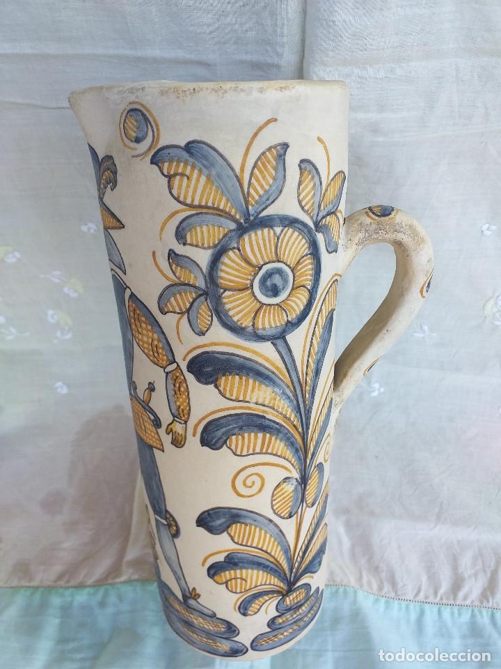 JARRÓN CERÁMICA LA MENORA TALAVERA (Antigüedades - Porcelanas y Cerámicas - Talavera)