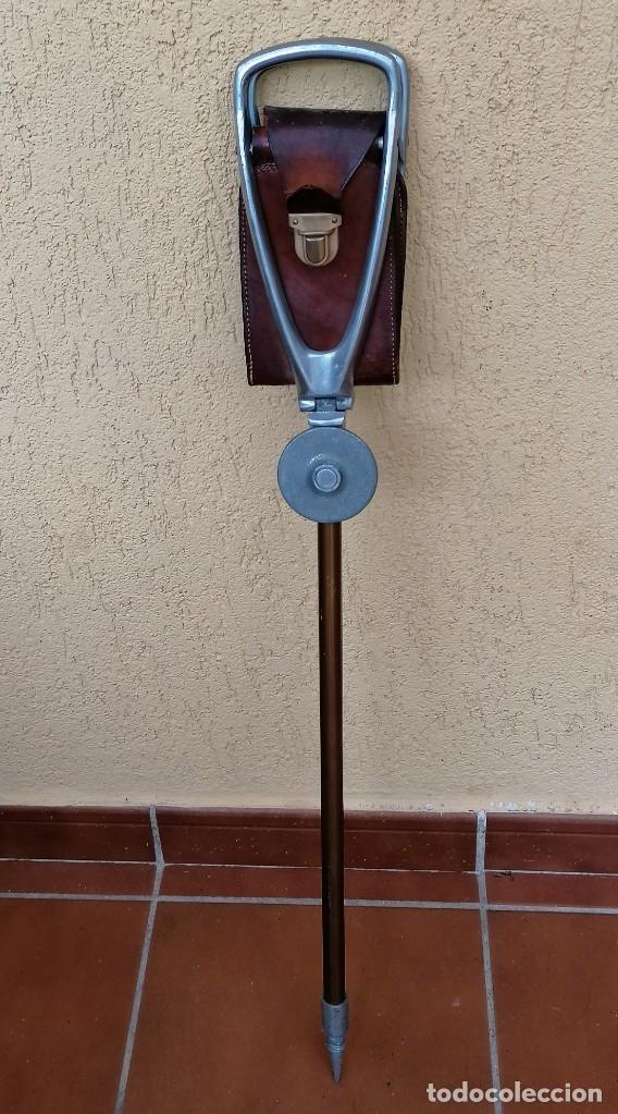 Antigüedades: Antiguo baston silla de paseo - Foto 3 - 177960443