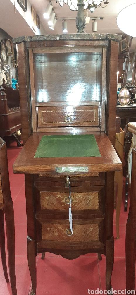 Antigüedades: Mueble abatan escritorio - Foto 4 - 177982563
