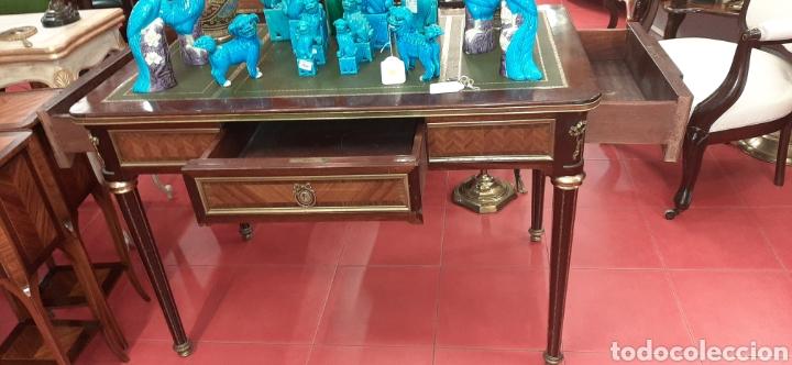 Antigüedades: Mesa escritorio despacho - Foto 4 - 177983772