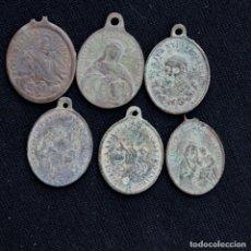 Antigüedades: LOTE 6 MEDALLAS. Lote 178005390