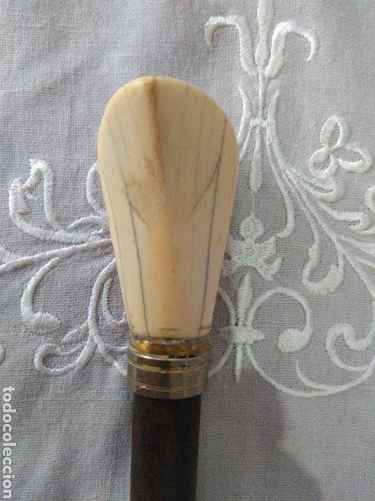 Antigüedades: BASTÓN (S. XIX,, MARFIL, LICEO DE BARCELONA, MUY BUSCADO ). MÁS BASTONES EN MI PERFIL. - Foto 7 - 176767075