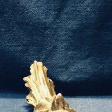 Antigüedades: REMATE DE MADERA TALLADA DORADA ESPAÑA S XVIII. Lote 178034379