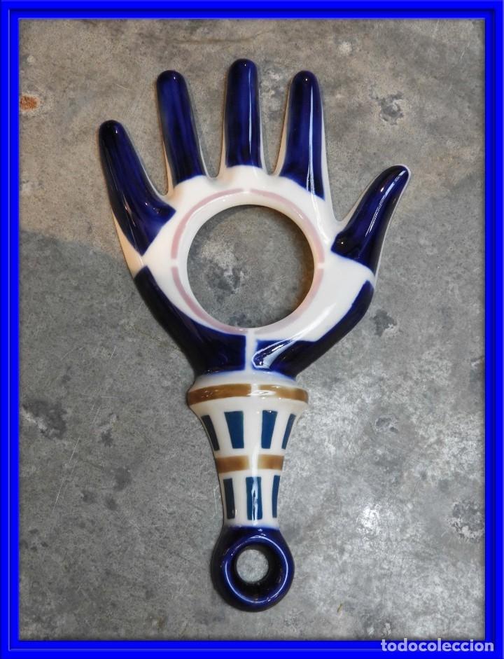 MANO ABIERTA DE PORCELANA DE SARGADELOS. PERFECTO ESTADO (Antigüedades - Porcelanas y Cerámicas - Sargadelos)