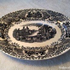 Antigüedades: BANDEJA ANTIGUA ( PICKMAN, LA CARTUJA DE SEVILLA, VISTAS.) . Lote 178036743