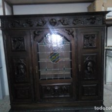 Antigüedades: DESPACHO CASTELLANO DE NOGAL. Lote 178037874