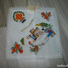 Antigüedades: VALENCIA ANTIGUO PAÑUELO A ESTRENAR. Lote 178081402