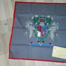Antigüedades: ITALY PAÑUELO DE CABALLERO TASADORES DE SEGUROS ZARAGOZA 1987. Lote 178083244