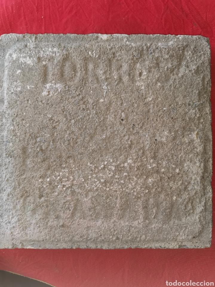 Antigüedades: Baldosa de barro antigua. Torres. Granada. - Foto 2 - 178093847
