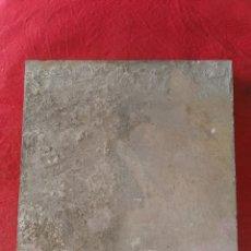 Antigüedades: BALDOSA DE BARRO ANTIGUA. TORRES. GRANADA.. Lote 178093847
