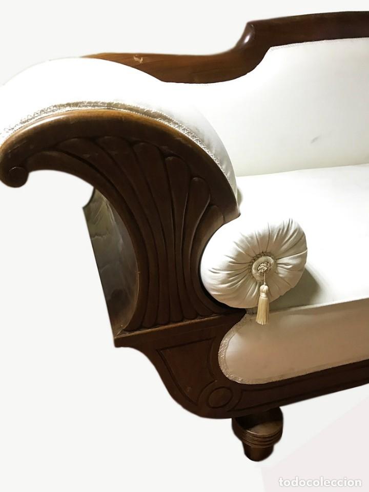 Antigüedades: Espectacular Sofá estilo Isabelino - Foto 6 - 178096047