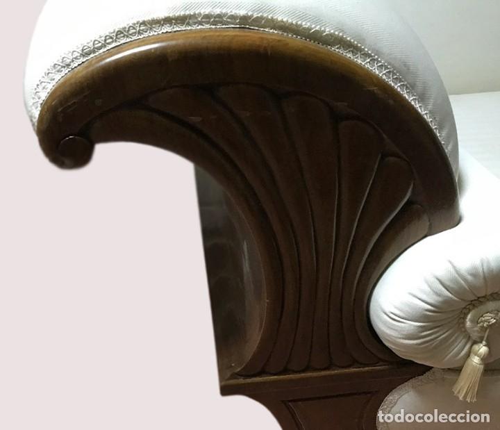 Antigüedades: Espectacular Sofá estilo Isabelino - Foto 8 - 178096047