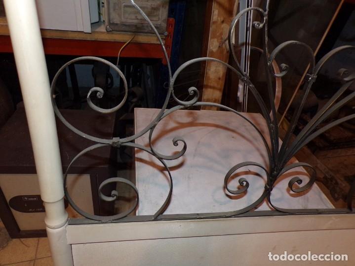 Antigüedades: cabezal cama madera - Foto 3 - 178100112