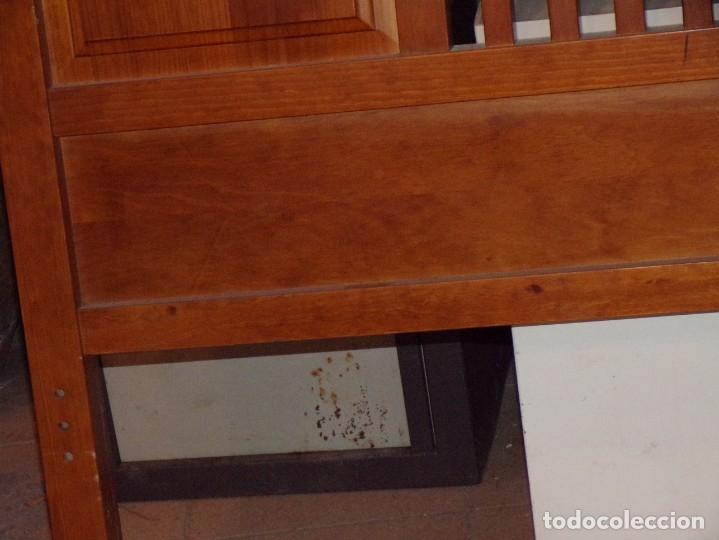 Antigüedades: cabezal cama madera - Foto 3 - 178100218