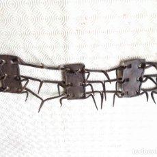 Antigüedades: CARLANCA DEFENSIVA PERRO. . Lote 178127924