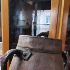 Antigüedades: ANTIGUA OLLA COBRE. Lote 178133655