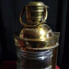 Antigüedades: FAROL DE BARCO LATON . Lote 178157870