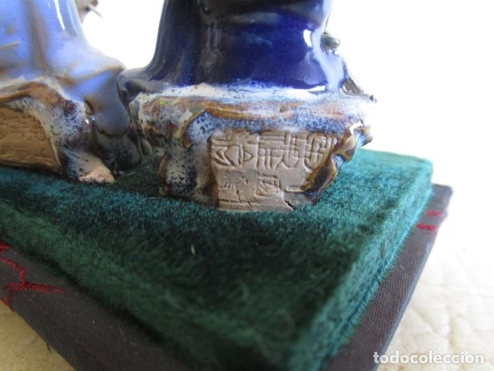 Antigüedades: diorama antiguas figuras porcelana chinas tamaño pequeño figura asiatica - Foto 14 - 147712022
