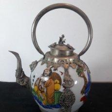 Antigüedades: TETERA CHINA . Lote 178175260