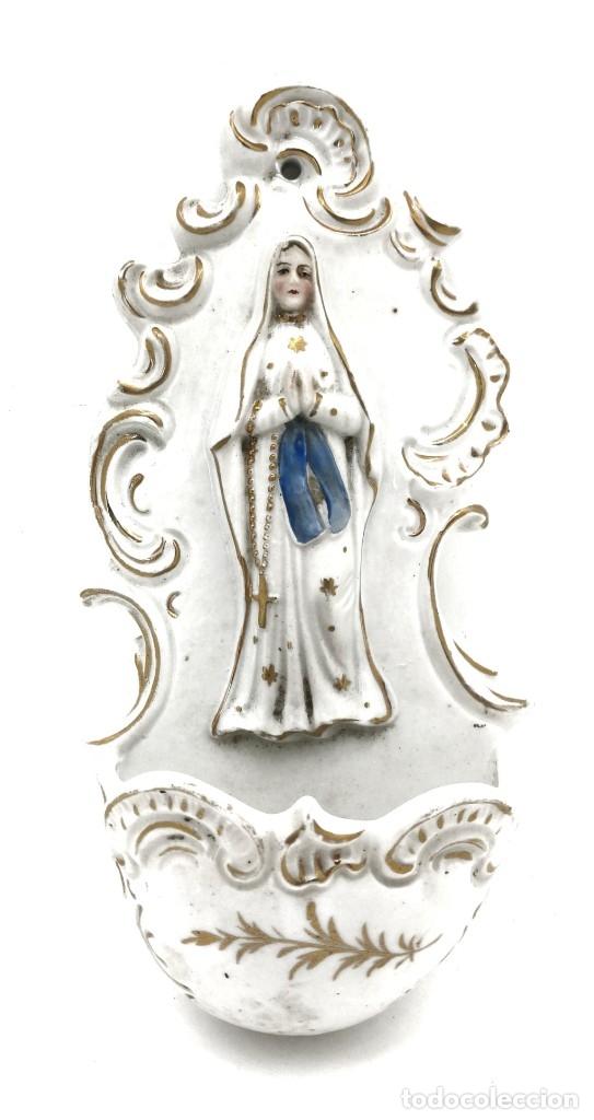 AGUABENDITERA (Antigüedades - Religiosas - Benditeras)