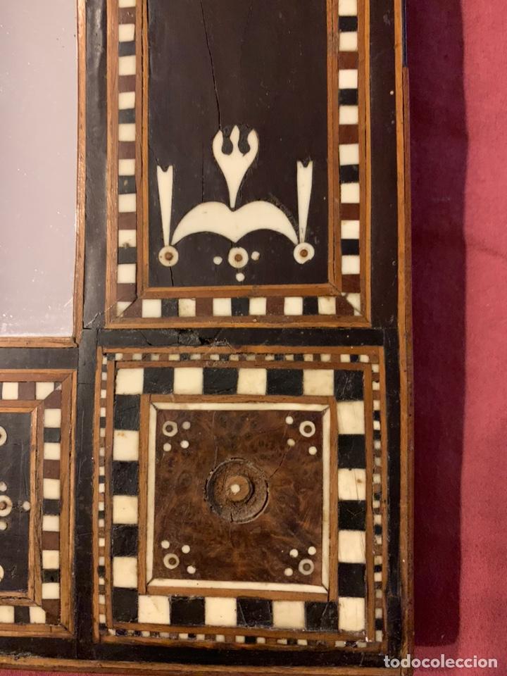 Antigüedades: Marco de taracea - Foto 2 - 178199806