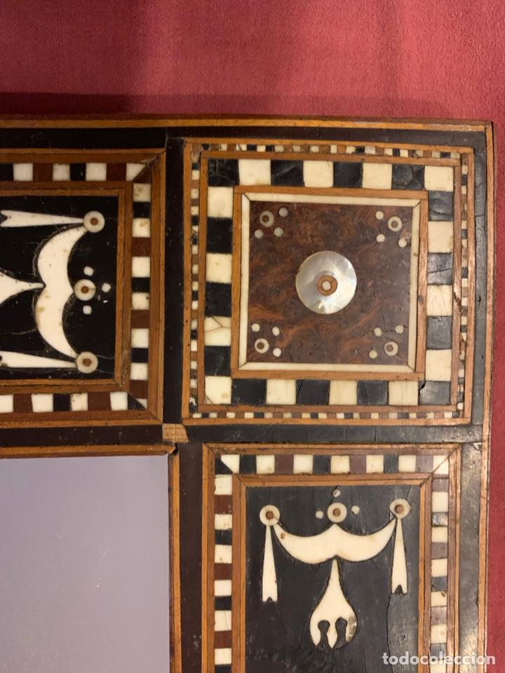 Antigüedades: Marco de taracea - Foto 4 - 178199806