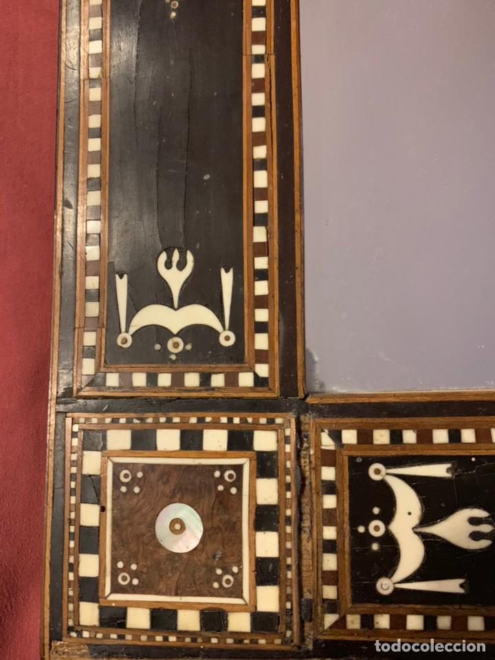 Antigüedades: Marco de taracea - Foto 5 - 178199806