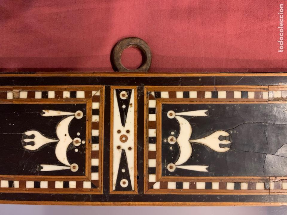 Antigüedades: Marco de taracea - Foto 7 - 178199806